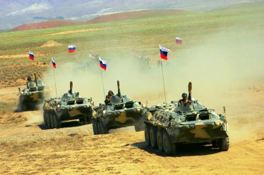 В российской военной базе в Армении завершилась итоговая проверка