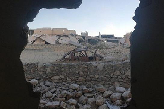 Врайоне Алеппо ранены двое российских военнослужащих