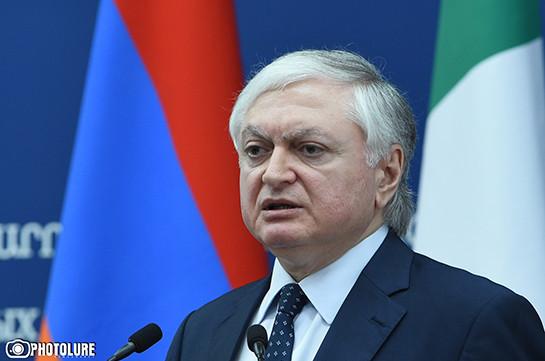 Налбандян: Баку нужно определиться