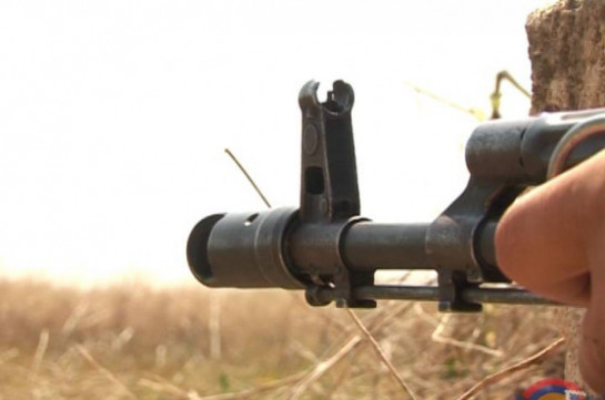 Противник обстреливает армянские позиции вКарабахе