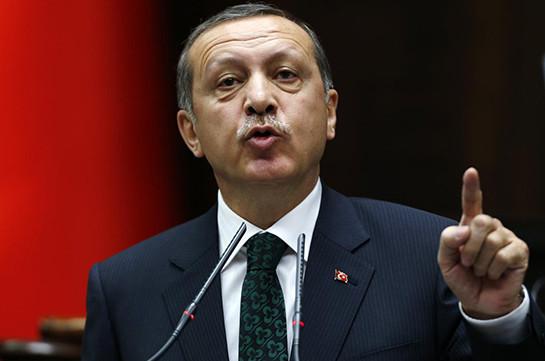 Около 10 000 человек проводят вБрюсселе акцию против политики Эрдогана