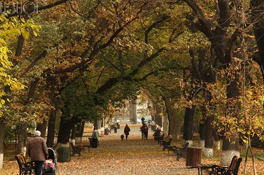 В Армении в ближайшие дни ожидается потепление