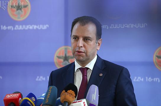 Минобороны Армении допустило участие военных России взащите страны
