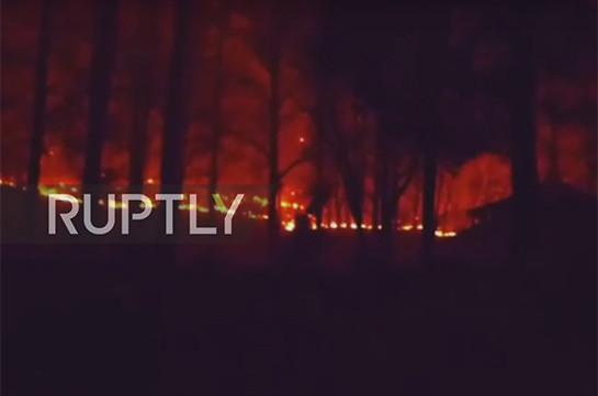 Из-за лесного пожара вТеннеси были эвакуированы 14 тыс. человек; есть жертвы