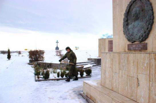 Военнослужащие российской военной базы ЮВО в Армении приведут в порядок воинские мемориалы и памятники