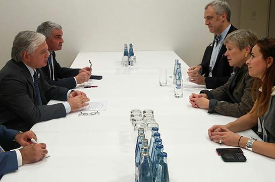«Мамедъяров иНалбандян встретились» МИД Азербайджана опровергает— МИД Армении