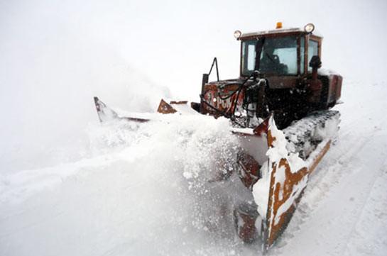 Снегопады в Армении продолжатся, температура воздуха понизится на 10-12 градусов