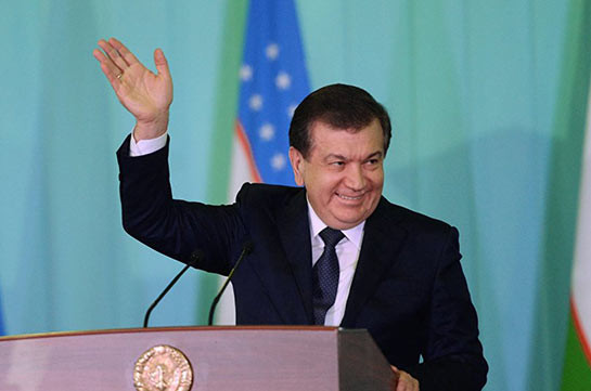 Шавкат Мирзиёев вступил вдолжность президента Узбекистана