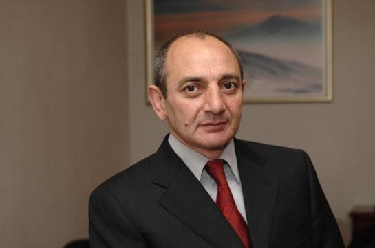 Бако Саакян направил телеграмму соболезнования по случаю смерти Армена Ерицяна