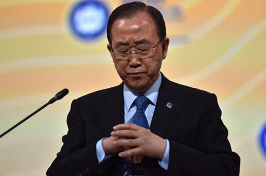 Пан ГиМун совершил последний визит вВашингтон вкачестве генерального секретаря ООН