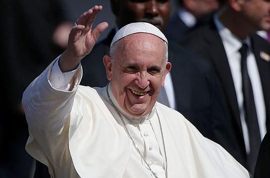 Папа римский Франциск отмечает 80-летие