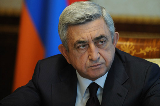 Саргсян направил соболезнования Путину в связи с варварским убийством посла РФ в Анкаре