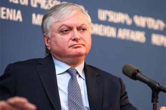 Էդվարդ Նալբանդյան. Չպետք է թույլ տալ, որ ԵԱՀԿ ուշացած արձագանքը խախտումներ իրականացնողի կողմից ընկալվի, թե իր գործողությունները կարող են հանդուրժվել