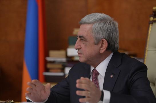 Левон Мкртчян доложил президенту Армении о ходе реформ образовательной системы