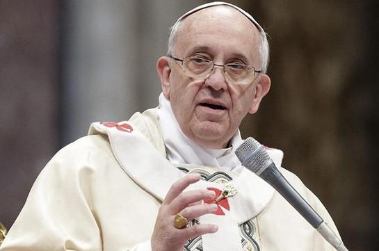 Папа Римский молится, чтобы Трамп руководствовался ценностями американцев