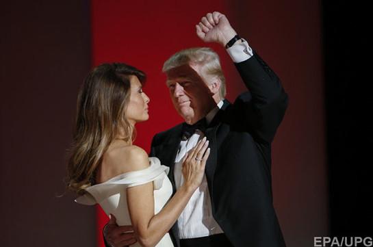 Мелания Трамп наинаугурации: фото новоиспеченной первой леди обсуждаются пользователями Сети