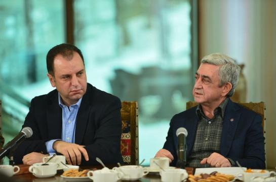 Серж Саргсян: Наша цель – определение окончательного статуса Нагорного Карабаха