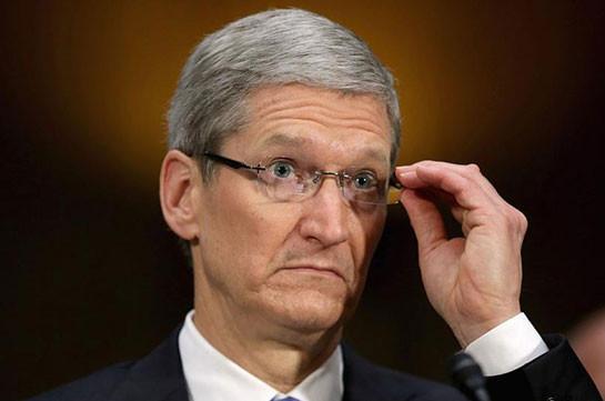 Руководитель Apple реализовал акции на7,2 млн долларов