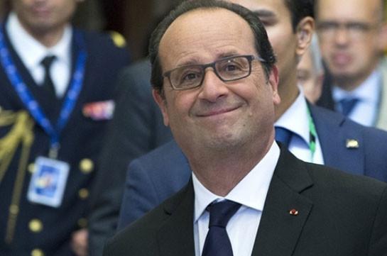 Администрация Трампа является вызовом для ЕС,— Олланд