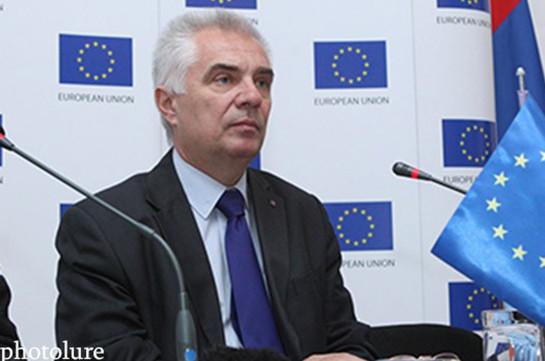 Свитальский: ЕС готов предоставить Армении необходимые деньги для борьбы с коррупцией
