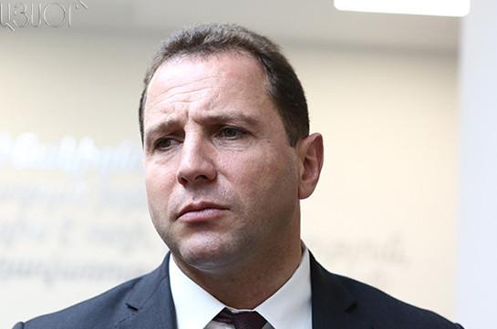 Давид Тоноян назначен главой МЧС Армении