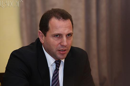 Давид Тоноян назначен министром необычных ситуаций Армении