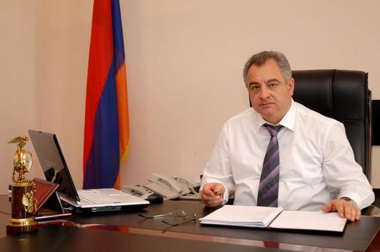 Самвел Санамян назначен новым советником премьера Армении