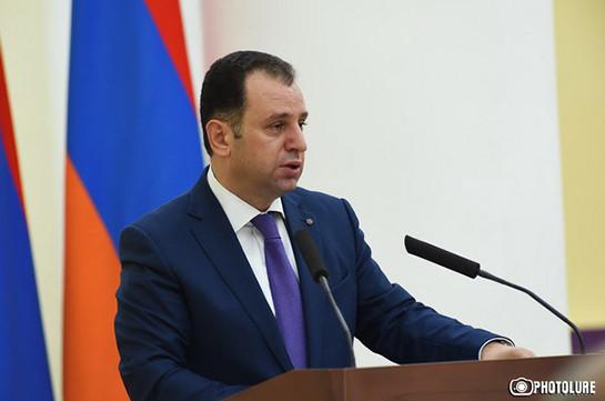 Рубен Тадевосян: совещание Исполнительного органа Республиканской партии Армении (РПА) пройдет сегодня