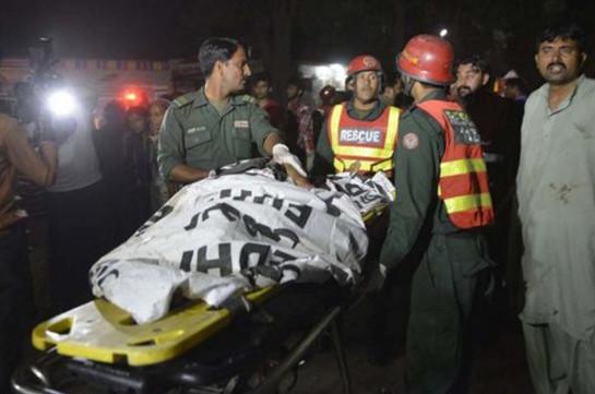 Պակիստանում ահաբեկչության զոհերի թիվը հասել է 74-ի