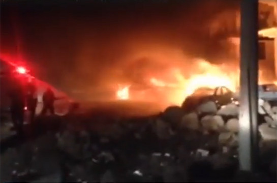 Взрыв прогремел наюге Турции