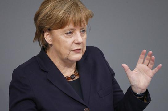 Меркель: ЕС должен укрепить зону евро и защитить валютный союз