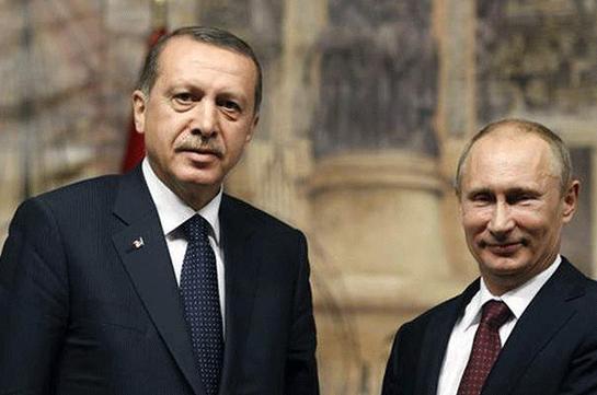 Переговоры В. Путина иЭрдогана пройдут в столице 9