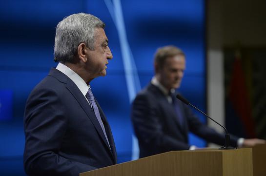 ЕСиАрмения завершили переговоры поновому партнерскому соглашению