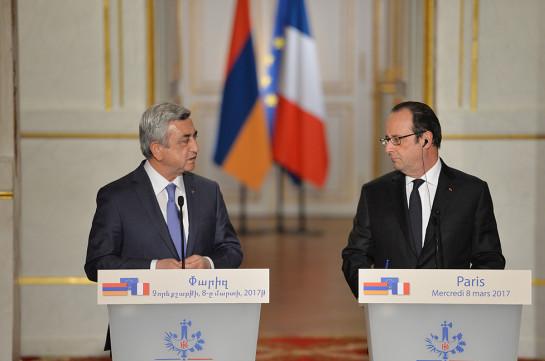 Олланд: Франция может быть полезной ввопросе карабахского урегулирования