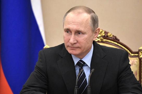 Путин: Армения осилит этап, связанный сконституционной реформой