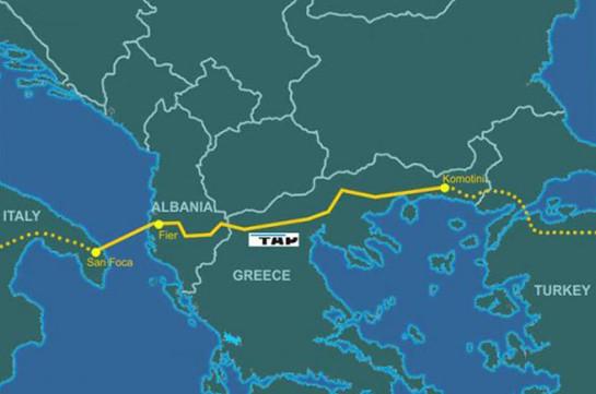 В Италии начались акции протеста против строительства азербайджанского газопровода TAP