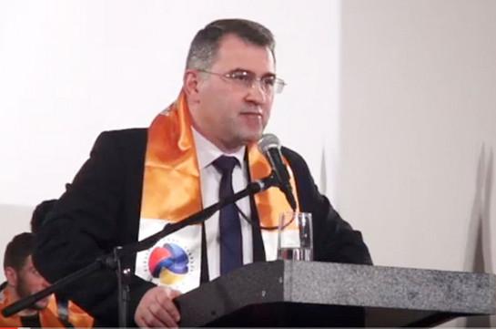 Армен Мартиросян: Придя к власти, мы проведем всеобъемлющую амнистию