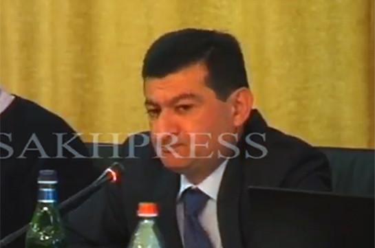 Ստեփանակերտի օդանավակայանը չի շահագործվում միջազգային կառույցների կողմից եղած ճնշումների պատճառով. Սերգեյ Շահվերդյան