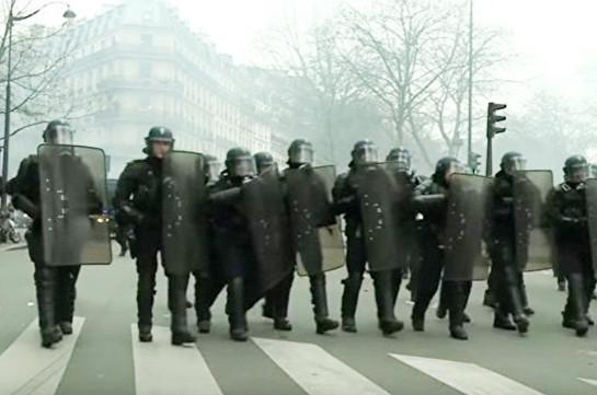 Փարիզում արցունքաբեր գազ է կիրառվել ընդդեմ ոստիկանական բռնության ցույցի մասնակիցների դեմ
