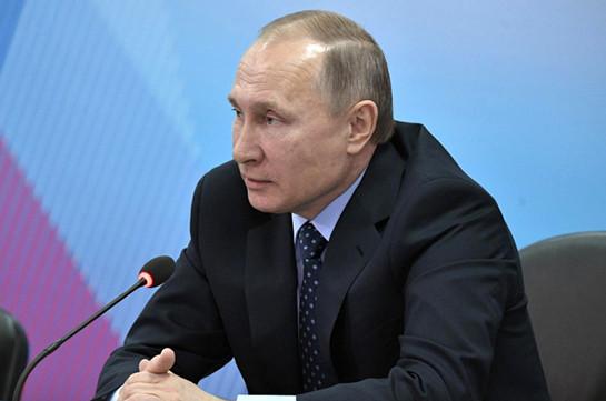 РФ готова продолжать транзит газа через государство Украину — Путин
