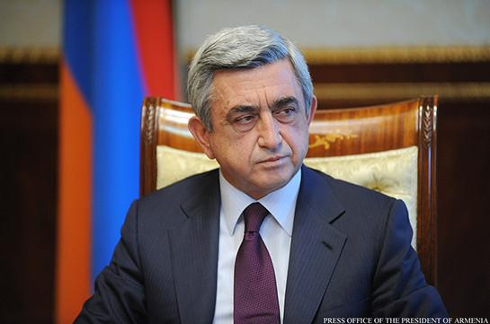 Серж Саргсян: Армения готова вместе с Россией бороться против международного терроризма