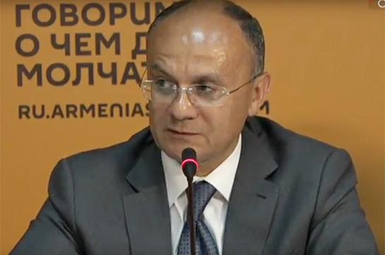 Сейран Оганян не исключает возможность своего ареста