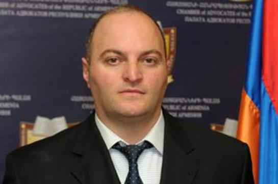 Адвокат: Санасар Габриелян возмущен распространенными сведениями