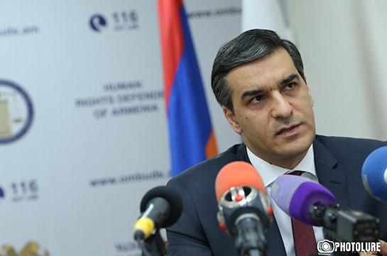 Омбудсмен Армении: Действия полиции во время событий по захвату полка ППС – неприемлемы