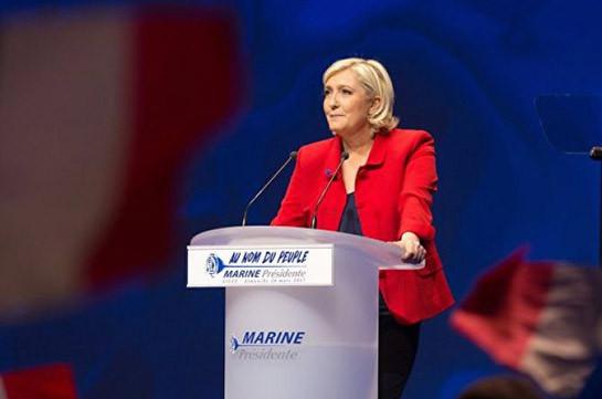 Ле Пен призвала французов не бояться ее