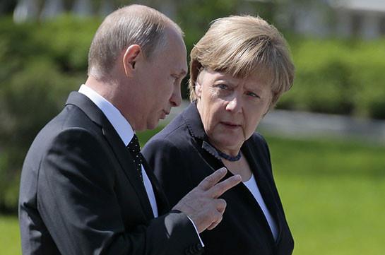 Кремль назвал дату иместо встречи В. Путина иМеркель