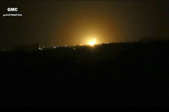 Դամասկոսի մերձակայքում գազատարը շարքից դուրս է եկել Իսրայելի ՌՕՈւ-ի հարվածի հետևանքով