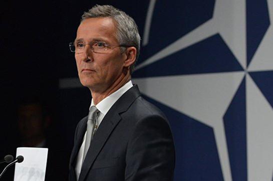 Столтенберг: НАТО небудет мешаться вконфликт США иКНДР