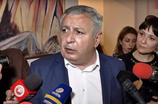 Мушег Сагателян: Яникогда неписал заявления осамоотводе