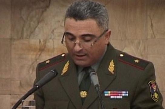 Армяно-российская объединенная группировка войск может встать назащиту Арцаха— Генерал-майор